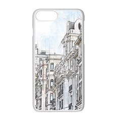 Architecture Building Design Apple Iphone 7 Plus Seamless Case (white)
