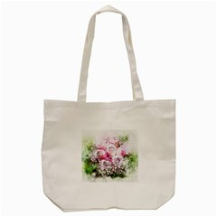 Flowers Bouquet Art Nature Tote Bag (cream)