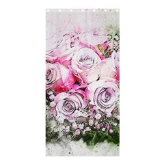 Flowers Bouquet Art Nature Shower Curtain 36  X 72  (stall)  by Nexatart