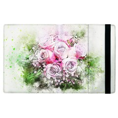 Flowers Bouquet Art Nature Apple Ipad 3/4 Flip Case by Nexatart