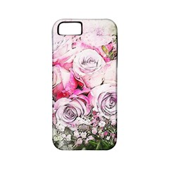 Flowers Bouquet Art Nature Apple Iphone 5 Classic Hardshell Case (pc+silicone) by Nexatart