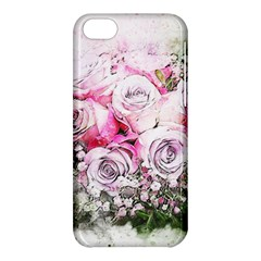 Flowers Bouquet Art Nature Apple Iphone 5c Hardshell Case by Nexatart