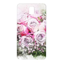 Flowers Bouquet Art Nature Samsung Galaxy Note 3 N9005 Hardshell Back Case by Nexatart