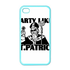 St  Patricks Day  Apple Iphone 4 Case (color) by Valentinaart
