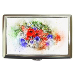 Flowers Bouquet Art Nature Cigarette Money Cases by Nexatart