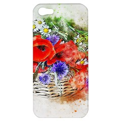 Flowers Bouquet Art Nature Apple Iphone 5 Hardshell Case by Nexatart