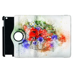 Flowers Bouquet Art Nature Apple Ipad 3/4 Flip 360 Case