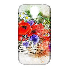 Flowers Bouquet Art Nature Samsung Galaxy S4 Classic Hardshell Case (pc+silicone) by Nexatart