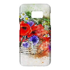 Flowers Bouquet Art Nature Samsung Galaxy S7 Hardshell Case  by Nexatart