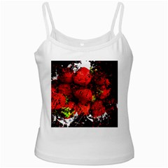 Strawberry Fruit Food Art Abstract Ladies Camisoles