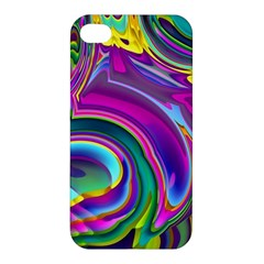 Background Art Abstract Watercolor Apple Iphone 4/4s Hardshell Case by Nexatart