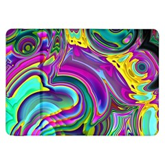 Background Art Abstract Watercolor Samsung Galaxy Tab 8 9  P7300 Flip Case by Nexatart