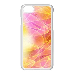 Background Art Abstract Watercolor Apple Iphone 8 Seamless Case (white) by Nexatart
