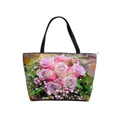 Flowers Bouquet Wedding Art Nature Shoulder Handbags