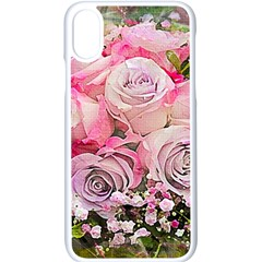 Flowers Bouquet Wedding Art Nature Apple Iphone X Seamless Case (white) by Nexatart