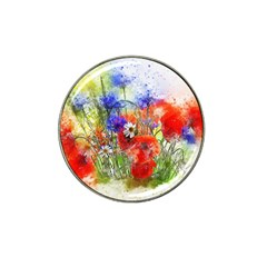 Flowers Bouquet Art Nature Hat Clip Ball Marker (10 Pack) by Nexatart