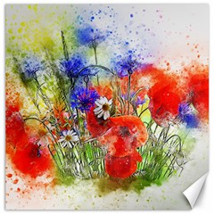 Flowers Bouquet Art Nature Canvas 12  X 12   by Nexatart