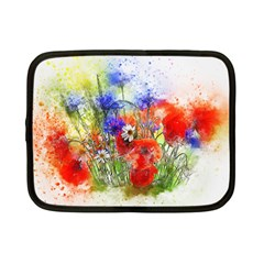 Flowers Bouquet Art Nature Netbook Case (small)  by Nexatart