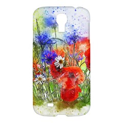 Flowers Bouquet Art Nature Samsung Galaxy S4 I9500/i9505 Hardshell Case by Nexatart