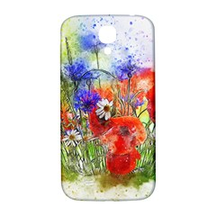 Flowers Bouquet Art Nature Samsung Galaxy S4 I9500/i9505  Hardshell Back Case by Nexatart