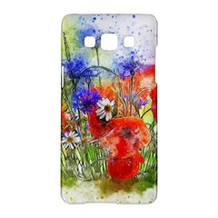 Flowers Bouquet Art Nature Samsung Galaxy A5 Hardshell Case  by Nexatart