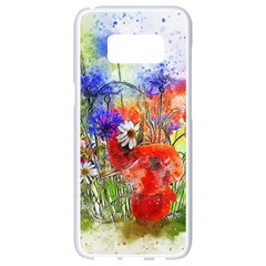 Flowers Bouquet Art Nature Samsung Galaxy S8 White Seamless Case by Nexatart