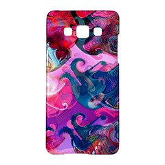 Background Art Abstract Watercolor Samsung Galaxy A5 Hardshell Case  by Nexatart