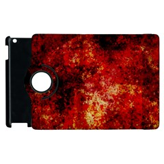 Background Art Abstract Watercolor Apple Ipad 2 Flip 360 Case by Nexatart