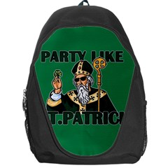 St  Patricks Day  Backpack Bag by Valentinaart