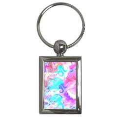 Background Art Abstract Watercolor Pattern Key Chains (rectangle)  by Nexatart