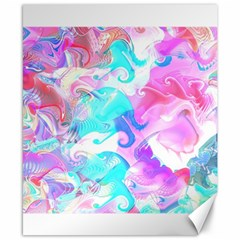 Background Art Abstract Watercolor Pattern Canvas 8  X 10