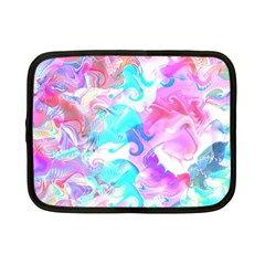 Background Art Abstract Watercolor Pattern Netbook Case (small)  by Nexatart