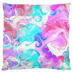 Background Art Abstract Watercolor Pattern Large Cushion Case (two Sides) by Nexatart