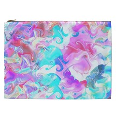 Background Art Abstract Watercolor Pattern Cosmetic Bag (xxl)  by Nexatart