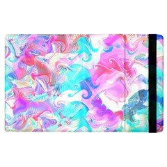 Background Art Abstract Watercolor Pattern Apple Ipad 2 Flip Case by Nexatart