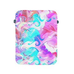 Background Art Abstract Watercolor Pattern Apple Ipad 2/3/4 Protective Soft Cases by Nexatart