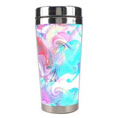Background Art Abstract Watercolor Pattern Stainless Steel Travel Tumblers