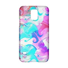 Background Art Abstract Watercolor Pattern Samsung Galaxy S5 Hardshell Case  by Nexatart