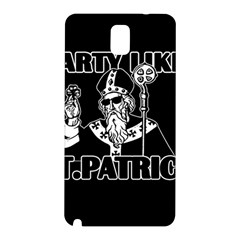 St  Patricks Day  Samsung Galaxy Note 3 N9005 Hardshell Back Case by Valentinaart