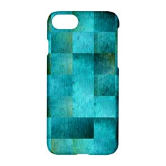 Background Squares Blue Green Apple Iphone 7 Hardshell Case