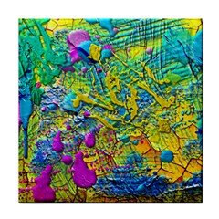 Background Art Abstract Watercolor Tile Coasters by Nexatart