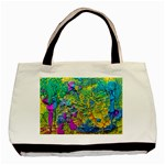 Background Art Abstract Watercolor Basic Tote Bag Front