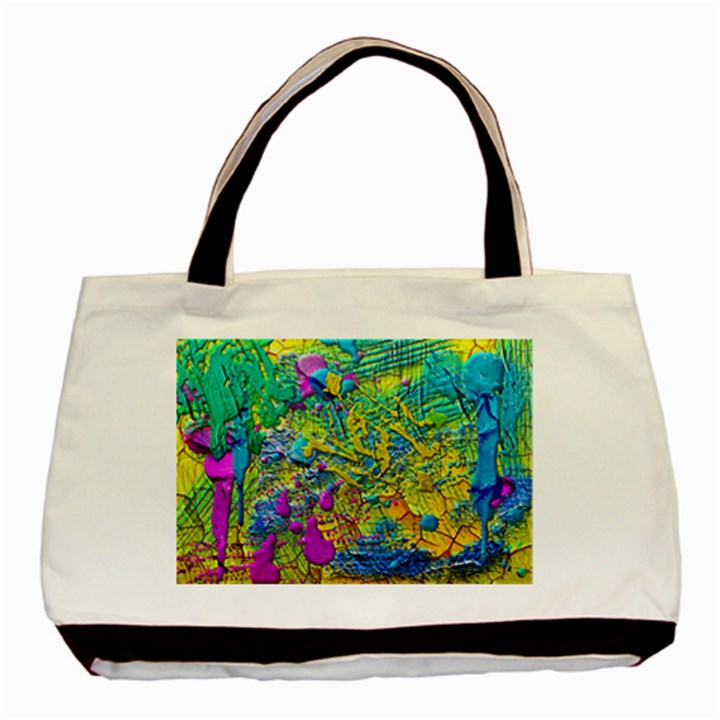Background Art Abstract Watercolor Basic Tote Bag