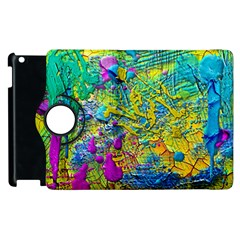 Background Art Abstract Watercolor Apple Ipad 3/4 Flip 360 Case by Nexatart