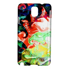 Background Art Abstract Watercolor Samsung Galaxy Note 3 N9005 Hardshell Case by Nexatart