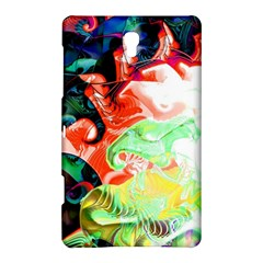 Background Art Abstract Watercolor Samsung Galaxy Tab S (8 4 ) Hardshell Case  by Nexatart
