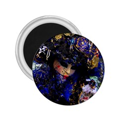 Mask Carnaval Woman Art Abstract 2 25  Magnets