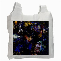 Mask Carnaval Woman Art Abstract Recycle Bag (one Side) by Nexatart