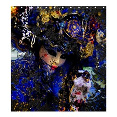 Mask Carnaval Woman Art Abstract Shower Curtain 66  X 72  (large)