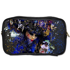 Mask Carnaval Woman Art Abstract Toiletries Bags 2 Side